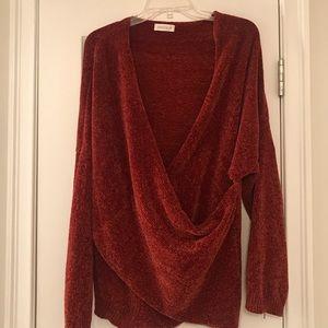 Boutique wrap sweater